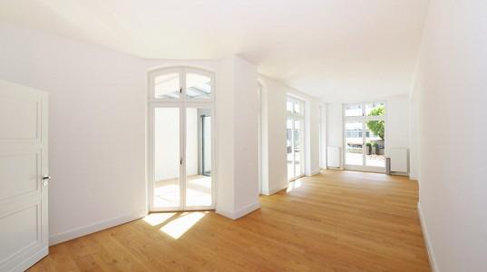 Umbau einer 120 m²  Wohnung in eine exclusive Wohnlandschaft