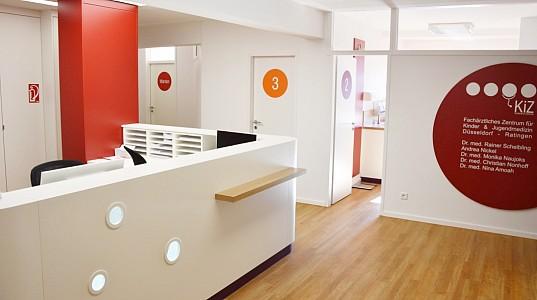 Sanierung eines Kinderarztzentrums in Ratingen