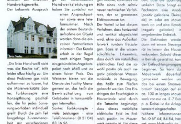 Haus & Markt - Ausgabe 4/2003