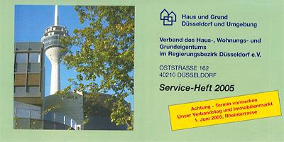 Haus und Grund Düsseldorf 5. April 2005
