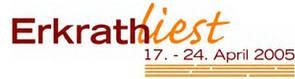 Erkrath liest  17. - 24. April 2005