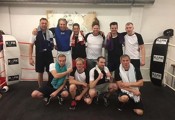 Weihnachtsfeier  2017 – Santec Sanierungsmanagement goes Boxing!