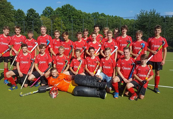 Santec Sanierungsmanagement unterstützt den Deutschen Jugend Feldhockey Meister - DSD Düsseldorf