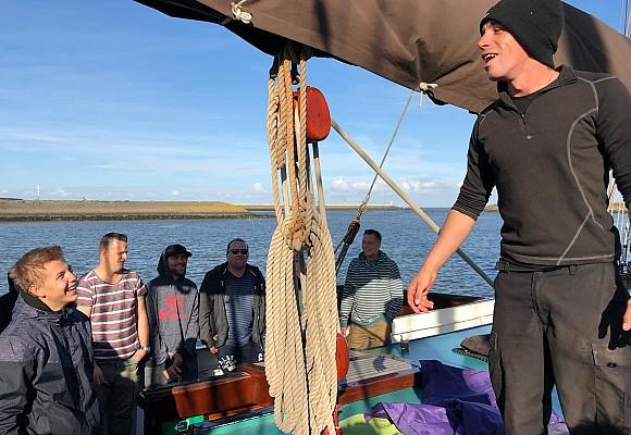 2018 - Kulinarisch anspruchsvolles und im Ausgleich dazu sportliches Segeln am Wattenmeer
